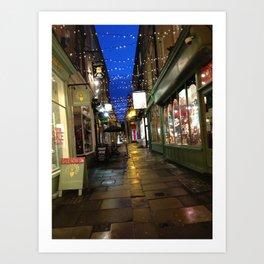Street In Bath Art Print