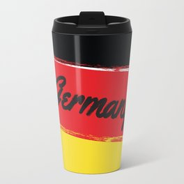 Germany   Russia World Cup 2018 Travel Mug