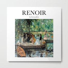 Renoir - La Grenouillère Metal Print