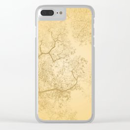 Trees Map V Clear iPhone Case