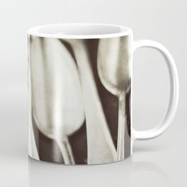 Antique Silverware Coffee Mug