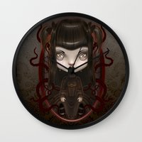 soul Wall Clocks featuring Soul by Liransz