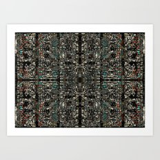 mirrors 1 Art Print