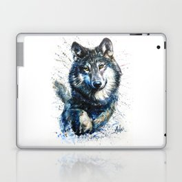 Gray Wolf - Forest King Laptop & iPad Skin