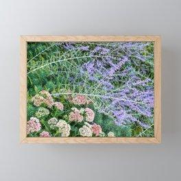 Garden Arranngement Framed Mini Art Print