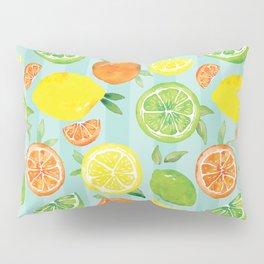Zesty Citrus Pattern Pillow Sham