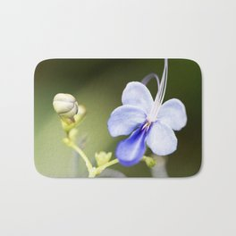 Blue Glory Bower from Bud to Bloom Bath Mat