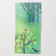 April Beach Towel