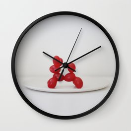 a case of Mistaken Identity 2 Wall Clock