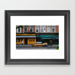 Bleecker St Framed Art Print