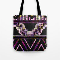 native american Tote Bags featuring Native American by Ben Geiger