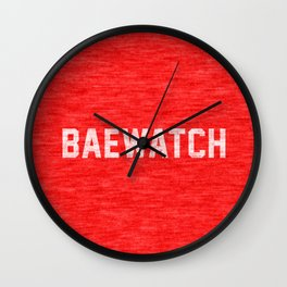 Baewatch Wall Clock