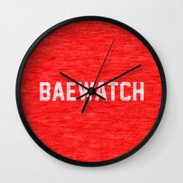 Baewatch Wall Clock