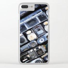 Got The Power:Minnesota Sculpture Clear iPhone Case
