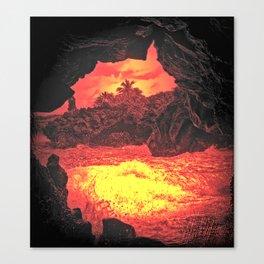 villainous island  Canvas Print