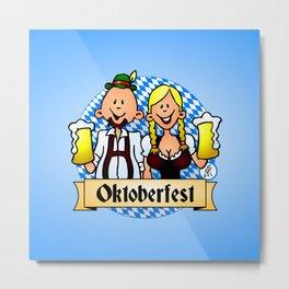 Oktoberfest Metal Print