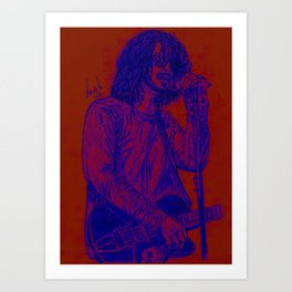 Death of Grunge Art Print