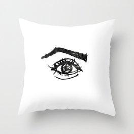 eye #1 Throw Pillow
