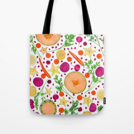 Fruits and vegetables pattern (19) Tote Bag