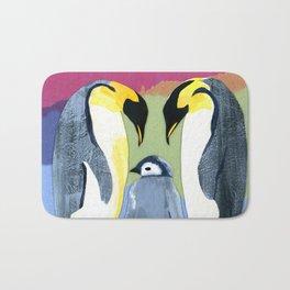 Penguin love Bath Mat