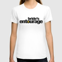 Bride's Entourage Wedding Artwork T-shirt