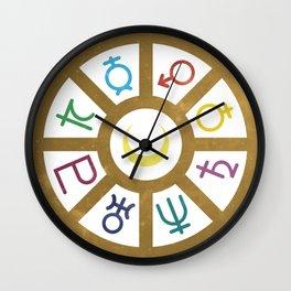 Circle of Stars Wall Clock