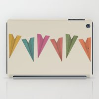 planes iPad Cases featuring Paper Planes by coalotte