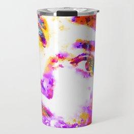 Colorful Life, Audrey Hepburn Travel Mug