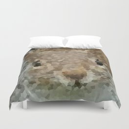 The other faces of Squirrel 2 Duvet Cover