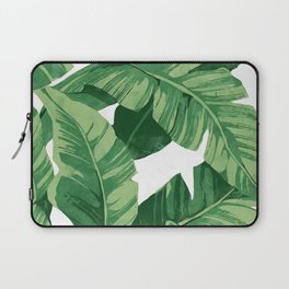 Tropical banana leaves IV Laptop Sleeve