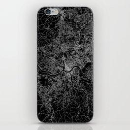 Cincinnati map iPhone Skin
