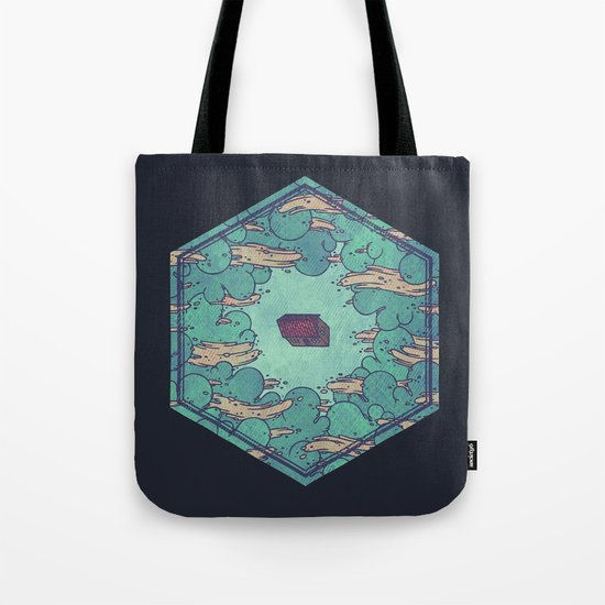 Away from Everything Tote Bag