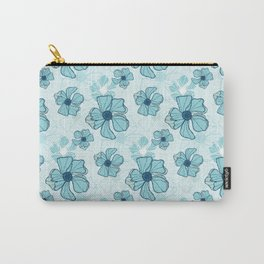 Blue Poppy Bash Carry-All Pouch
