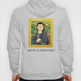 Meow - Artsy and Fabulous Hoody