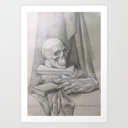 academic drawing Art Print