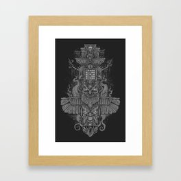 PRSPCT Totem Framed Art Print