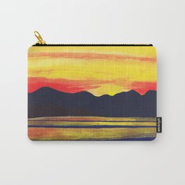 Salish Sea Sunset Carry-All Pouch