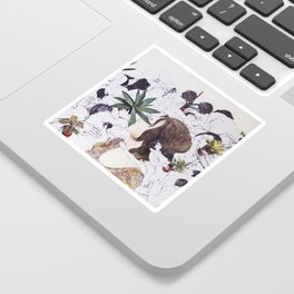 The Joy of Sex and Indoor Gardening Sticker