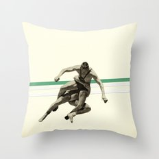 The Wrestler Throw Pillow