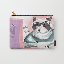 Office Racoon (c) 2017 Carry-All Pouch