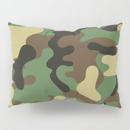 Classic Camouflage Pattern Pillow Sham
