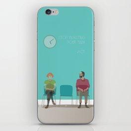 Waiting room iPhone Skin