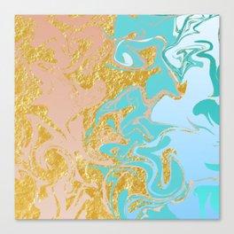 Foiled Canvas Print