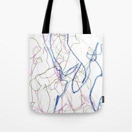 Nonsensical Scribbles Tote Bag