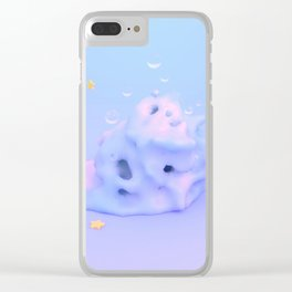 Mr Blobby Clear iPhone Case