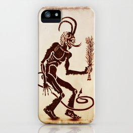 Krampus Is Coming iPhone Case