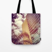 florida Tote Bags featuring Florida by wendygray