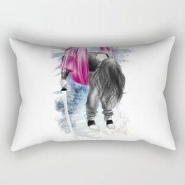 i am ninja 01 // tired ninja Rectangular Pillow