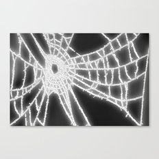 Surrealistic Spider Web Canvas Print