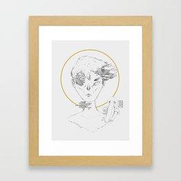 Mushroomboy Framed Art Print